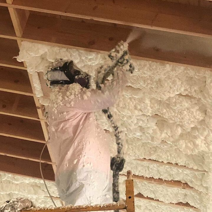 Installing Open-cell Spray Foam Insulation Cleburne, TX