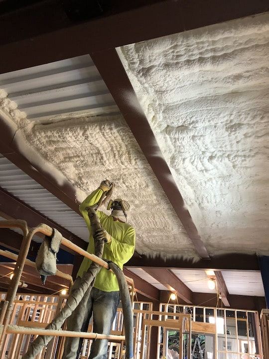 Spray Foam Insulation Installation Cleburne, TX